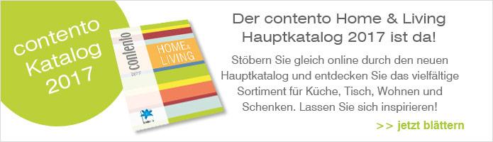 Contento Home & Living Hauptkatalog 2017