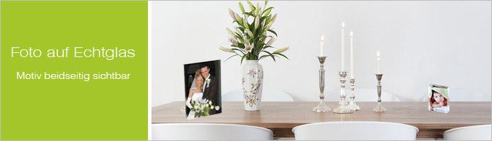 Fotogeschenke - Glasbilder