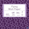 Flying Wishpaper Mini - Sterne lila