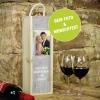 Weinbox personalisiert mit Foto und Text