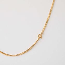 Halskette Gold Edelstahl