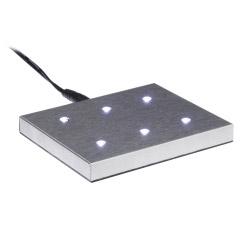 Leuchtsockel aus Edelstahl XL