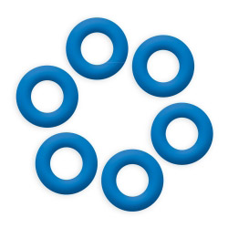 Topfuntersetzer Loop Blau