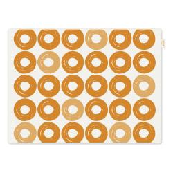 Tischset Jay orange Ringe