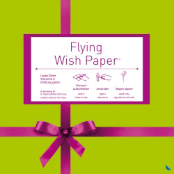 Contento flying wish paper ribbon