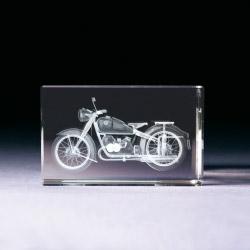Glasblock - Motorrad BMW