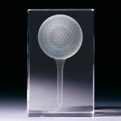 Glasblock - Golfball
