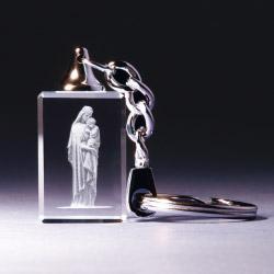 Schlüsselanhänger - Maria mit Kind