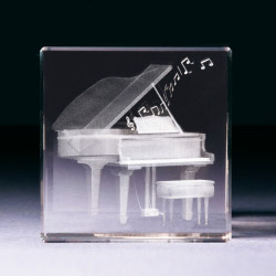 Glasblock - Klavier