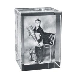 2D Foto in Glas 60x35x35 hoch