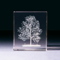 Glasblock - Baum