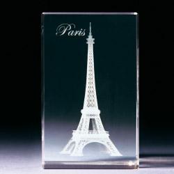 Glasblock - Eiffelturm