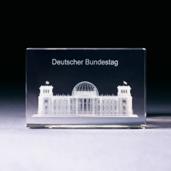 Glasblock - Deutscher Bundestag