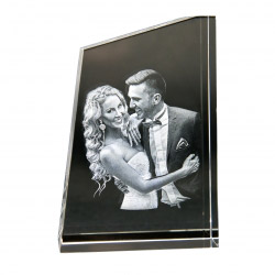 3D Glasfoto TOWER M 1-4 Personen