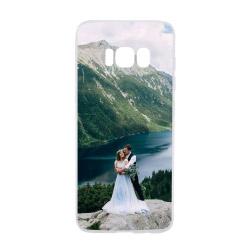 Foto Handyhülle transparent für Galaxy S8