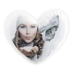 Foto Soft Kissen Herz mit eigenem Bild