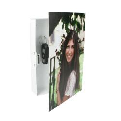 Wand-Schlüsselkasten mit Foto