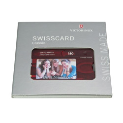 Original Swiss Card mit Foto