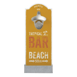 Wand-Flaschenöffner - Beachbar