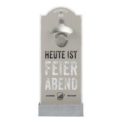Wand-Flaschenöffner - Feierabend
