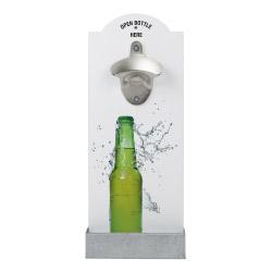 Wand-Flaschenöffner - Flasche
