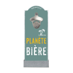 Wand-Flaschenöffner PLANÈTE BIÈRE