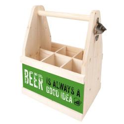 Beer Caddy BEER IS ALWAYS A GOOD IDEA