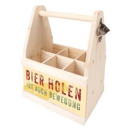 Beer Caddy BIER HOLEN IST AUCH BEWEGUNG