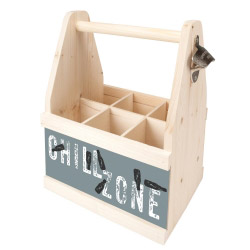 Beer Caddy CHILL ZONE