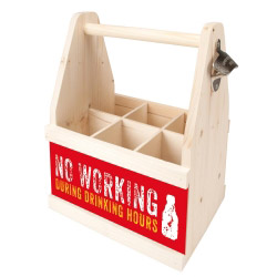 Beer Caddy NO WORKING DURING DRINKING HOURS