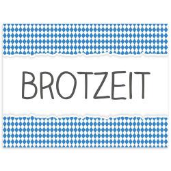 Tischset Vinyl BROTZEIT