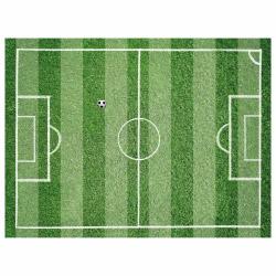 Tischset Vinyl Fußballfeld