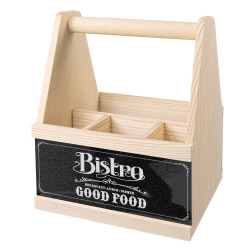 Besteck Caddy BISTRO GOOD FOOD