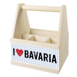 Besteck Caddy I LOVE BAVARIA