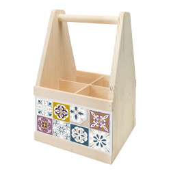 Wine Caddy MOSAIK FEIN