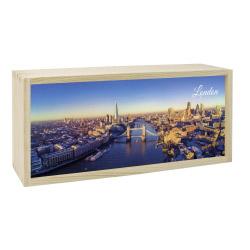 Lightbox LONDON 35x15 cm