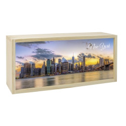 Lightbox NEW YORK 35x15 cm
