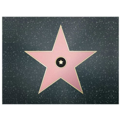 Tischset Vinyl Walk of Fame