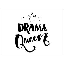 Tischset Vinyl Drama Queen