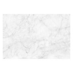 Vinyl Teppich MATTEO 60x90 cm Marmor Weiß