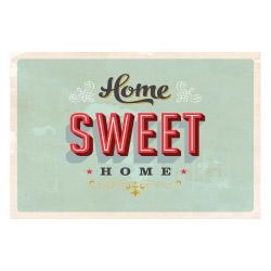 Vinyl Teppich MATTEO 60x90 cm Home Sweet Home