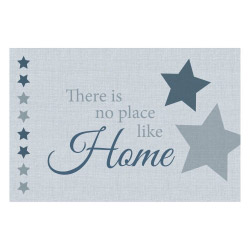 Vinyl Teppich MATTEO 60x90 cm No Place Like Home