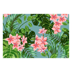 Vinyl Teppich MATTEO 60x90 cm Farns & Blossom