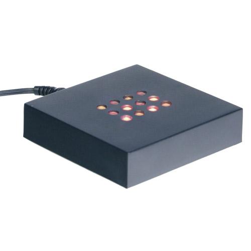 Leuchtsockel - bunte LEDs 100x100x20mm