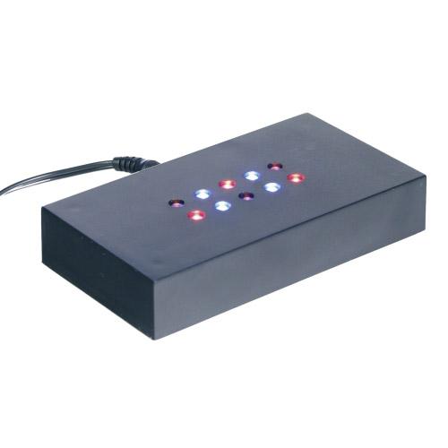 Leuchtsockel - bunte LEDs 110x60x20mm