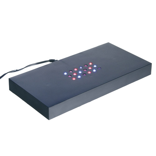 Leuchtsockel - bunte LEDs 200x100x20mm