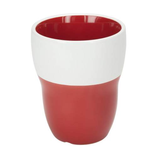 Doppelwand-Tasse Lilly rot