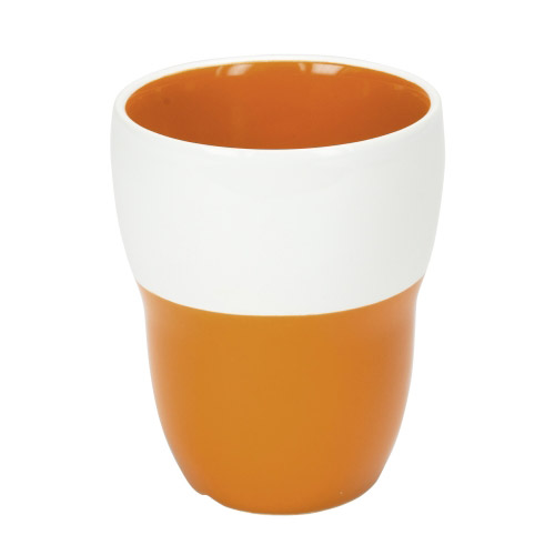 Doppelwand-Tasse Lilly orange