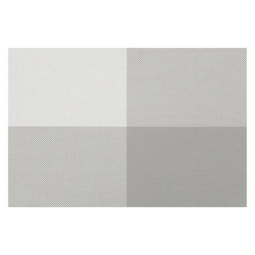 4 Tischsets Zarah graue Rechtecke