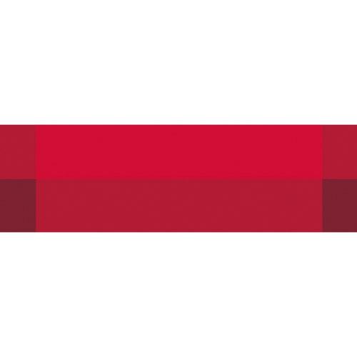 Tischläufer Zarah rote Rechtecke